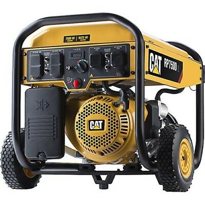 EMERGENCY Brand New CAT RP7500E - 7500 Watt Electric Start Portable Generator