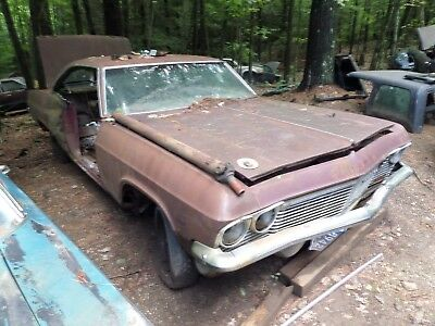 Parting out 1965 65 IMPALA SS 327 300 HP 4 SPEED CAR WITH 12 BOLT POSI
