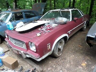 Parting out 1974 LAGUNA S-3 CHEVELLE 400 BUCKETS CONSOLE RALLYS