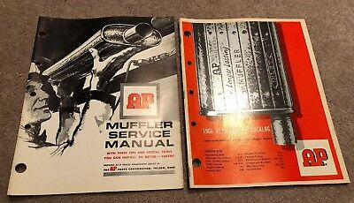 1960's AP MUFFLERS CATALOGS— Lot Of Two