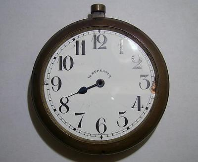 Antique Table Clock ¼ Repeater 69 mm Case + Dial for Spares / Parts