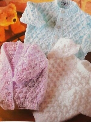 DK PATTERN 16-22inch  cardigan and jumper babies toddler  0055
