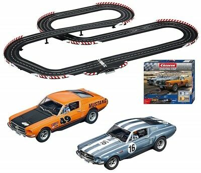 Carrera Digital 132 Ford Fastbacks Slot Car Racing Race Set 30194 NEW