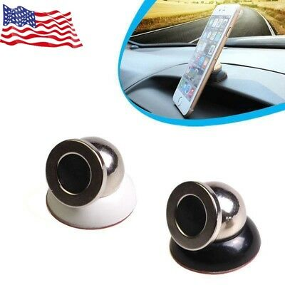 360 Degree Rotation Car Dash Magnetic Ball Dock Phone GPS Mount Holder Bracket