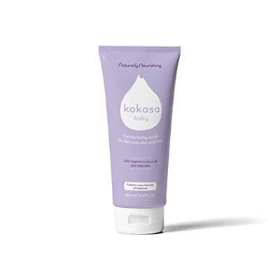 Baby Wash Organic   Natural - Delicate For Skin   Hair Shampoo - Softly Scented