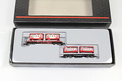 "Märklin Z 82285 Containerwagen-Set der DB  ""Hoyer"" , OVP +  TOP      -Z84"