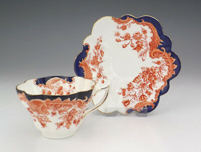 Foley Wileman & Co Porcelain - Imari Inspired Cup & Saucer - Lovely!