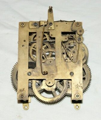 Antique JUNGHANS Clock Movement, Spares/Repair