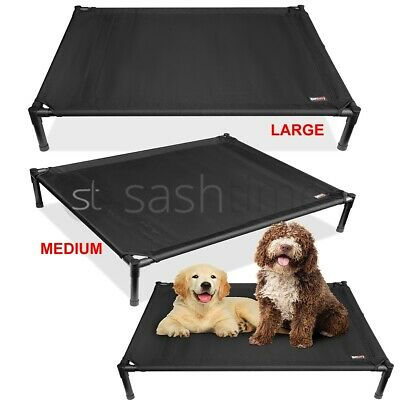 Outdoor Indoor Elevated Dog Pet Bed Portable Waterproof Raised Camping Basket