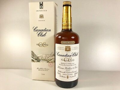 WHISKY I CANADIAN CLUB  WHISKY I 40% I 90er Jahre I NEU in OVP I