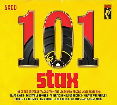 101 STAX (Best Of / Greatest Hits): 5 CD ALBUM BOX SET