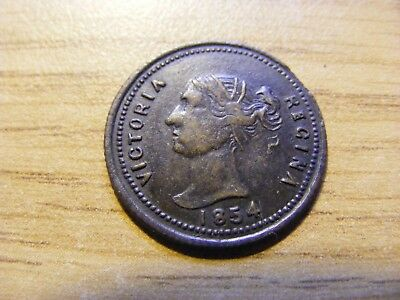 A 1854 Victoria Crimean War Inkerman Token, nice condition  20mm Dia