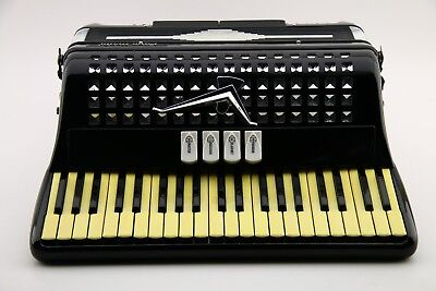 Lyon & Healy Vintage Custom Accordion Model 48M Made in Italy