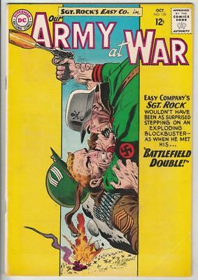 Our Army at War # 135 Strict FN/VF Artist Joe Kubert Navy Frogmen backup story