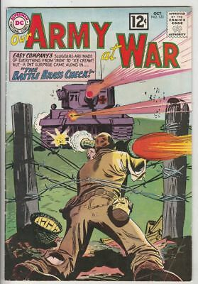 Our Army at War 123 Strict FN/VF Artist Joe Kubert, Early Sgt.Rock and Easy Co