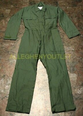 USGI Army Utility Coveralls Mechanic Shipboard Uniform OD Green MANY SIZES NEW