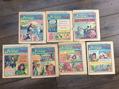 jinty and lindy comics from 1976