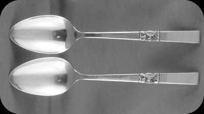 """2 Community Morning Star 7 3/8"""" Dinner Spoons TWO (2 sets of two avail)"""