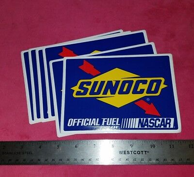 ONE 1 SUNOCO Official Fuel of NASCAR Sticker Decal 2008 FREE SHIPPING gas racing