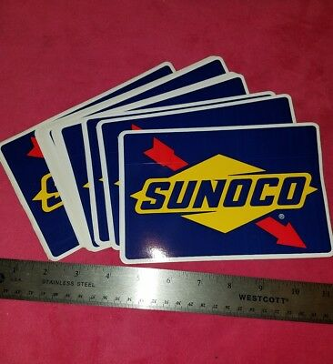 SUNOCO auto car racing NASCAR Stickers Decals  2012 LOT OF 50 FREE SHIPPING gas