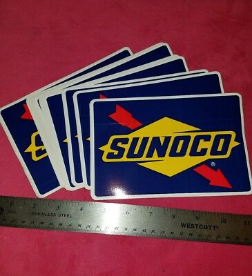 SUNOCO Official Fuel of NASCAR Stickers Decals  2012 LOT OF 25 FREE SHIPPING gas