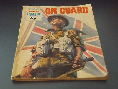 WAR PICTURE LIBRARY NO 844!,dated 1973!,GOOD for age,great 45!YEAR OLD issue.