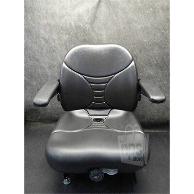 Milsco  Black Seat for Caterpillar Forklift 2EC25*