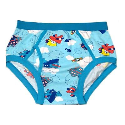 Adult IMPROVED Airplane-Teddy's baby blue color briefs autistic underpants