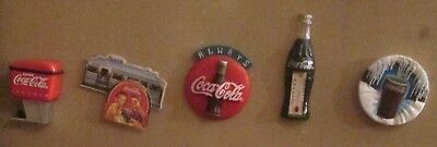 Lot of Vintage Coca-Cola Collectibles Magnets