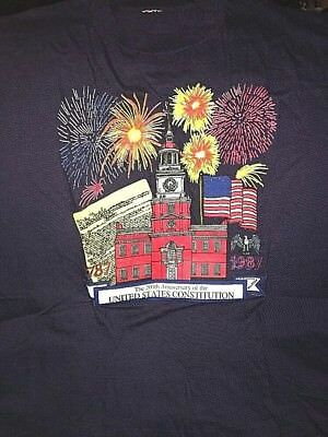 200th Anniversary of the United States Constitution 1787-1987 Shirt Size LARGE