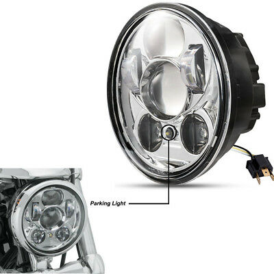 1x 5.75'' LED Projection Daymaker Headlight For Harley Sportster XL 1200 Dyna