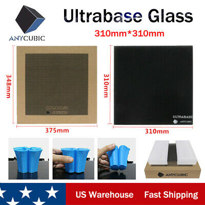 ANYCUBIC Ultrabase 310x310mm 3D Printer Platform Glass Plate Build Surface - US