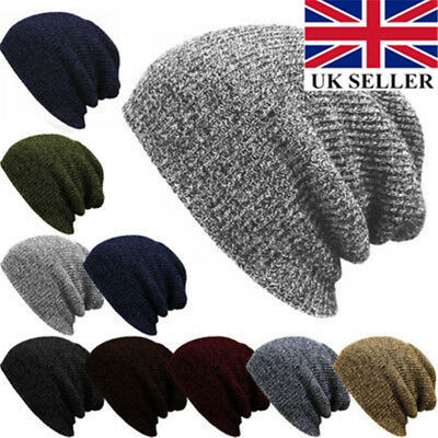 830e0f0bc78 MENS WOMENS 100% British Wool Beanie Hat Bobble  Cashmere Lambs Wool ...