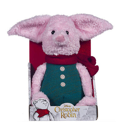 Posh Paws Disney Christopher Robin Coll.- Large Piglet Plush Toy 10in 37468