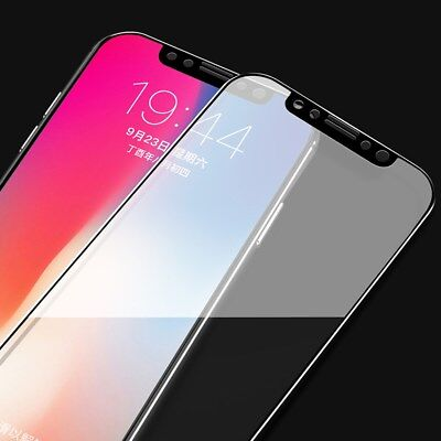 For iPhone XS MAX XR X 3D Curved Full Coverage Tempered Glass Screen Protector