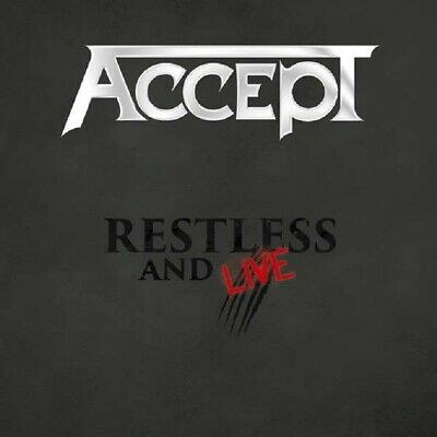 Accept - Restless And Live 2015 - Nucl.Blast 2736131672 - (CD / Titel: A-G)
