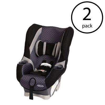 Graco My Ride 65 LX Convertible Toddler Child Car Seat Black Coda 2 Pack