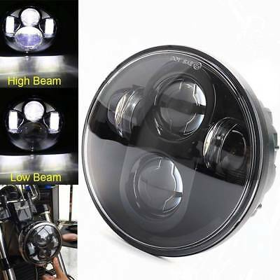 5-3/4 5.75''inch Daymaker Projector Headlight Black For Harley Dyna LED Headlamp