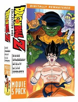 Dragon Ball Z Movie Pack 1 (1-5) - Official R1 Ntsc Anime Dvd New
