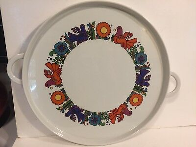 Villeroy and Boch Acapulco Round Handled Tray/Platter