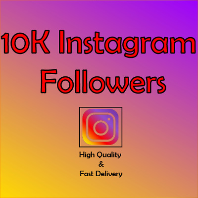 10k Instagram Followérs Active and Real