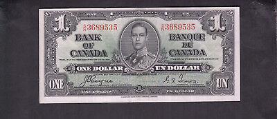 1937 Canada 1 Dollar Bank Note Coyne