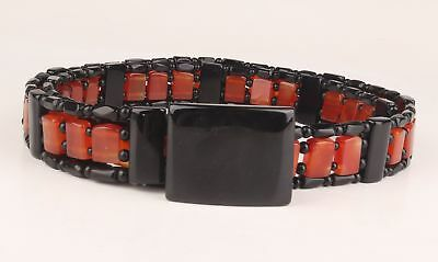 Natural Agate Hand-Carved Special Men Belts Decorative Chinese Old Collection