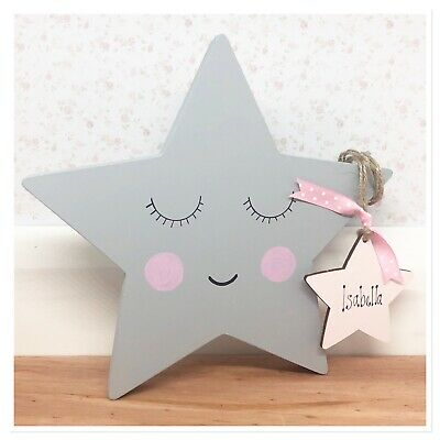 Personalised Newborn Baby Boy / girl Gift Present Christening Keepsake  Star