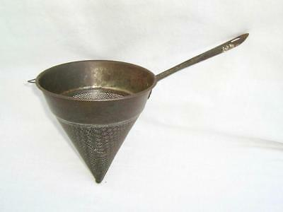 Conical sieve   Vintage  Kitchenalia