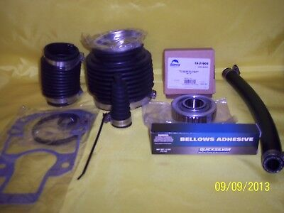 Alpha 1  Gen 2 Bellows transom repair kit  a/m with hd bearing,adhesive