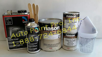 Black Cherry Met Basecoat Dupont/Nason Usc10 Clear Kit Auto Body Shop Paint