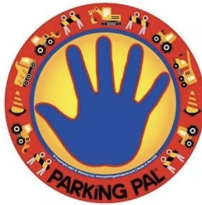 Parking Pal car magnet child road safety UK seller  (Digger design)
