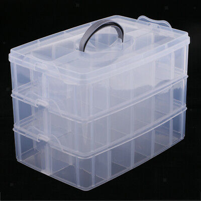 Storage Box 5 Compartment Bead Fishing New Low Price Small Parts Hawk Tj8705 Craft