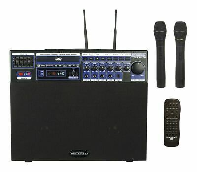 Vocopro DVD SOUNDMAN  CD-G Player Karaoke Machine System/2 Mics, 4 Channel Mixer